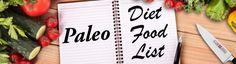 paleo diet food list banner