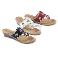 34af6c72ca4 Whipstitch Wedge Sandals - NorthStyle Women s Fashions Wedge Sandals