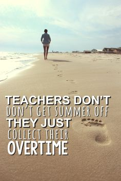 Enjoy your summer! Relax, recharge and have fun.