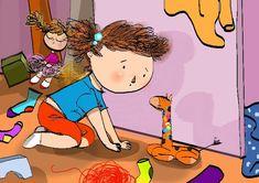 Bajka pomagajka-terapeutyczna na temat porządku, sprzątania i obowiązków domowych. Bałagan w pokoju dziecięcym zdarza się wszędzie. Bajka może pomóc. Children, Anime, Fictional Characters, Therapy, Young Children, Boys, Kids, Cartoon Movies, Anime Music