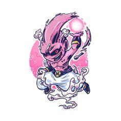 Shop Kid Buu dragon ball z t-shirts designed by diditpranata as well as other dragon ball z merchandise at TeePublic. Majin Boo Kid, Buu Dbz, Kid Buu, Dragon Ball Z Shirt, Dope Art, Character Design Inspiration, Fandom, Manga, Art Sketches