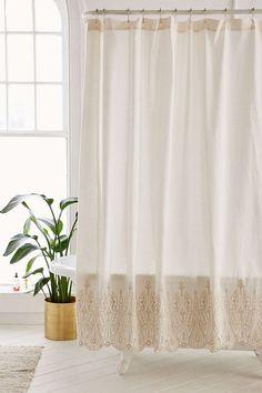 Emma Eyelet Shower Curtain