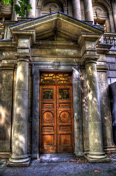Side Door - National Museum of Ireland, Dublin