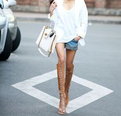 Yay Or Nay?! - Knee High Gladiator Sandals
