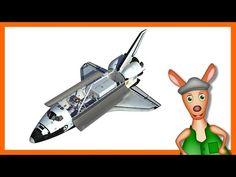 NASA SPACESHIP/ ROCKET: Space shuttle videos for kids| children| toddlers. Kindergarten learning. - YouTube