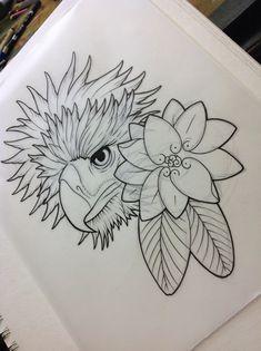 Tattoo Cat Line Eyes Ideas Rose Tattoos, Body Art Tattoos, Tribal Tattoos, Sleeve Tattoos, Tatoos, Mens Shoulder Tattoo, Flower Tattoo Shoulder, Philippine Eagle, Sampaguita