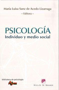El libro Psicología: Individuo y Medio Social es un texto útil e interesante para entender el alcance científico de la Psicología contemporánea. En él se analizan los procesos cognitivos, motivadores, afectivos y sociales desde una perspectiva teórica y empírica, para que el lector comprenda sin mayor dificultad la naturaleza de cada uno de ellos y sus interacciones. Localización en biblioteca:  150 P974i 2012