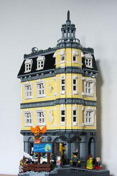 cimddwc's Chima Trikes Store Lego Pictures, Lego Building Blocks, Lego Moc, Lego Lego, Lego Modular, Cool Lego Creations, Lego Worlds, Lego Projects, Custom Lego