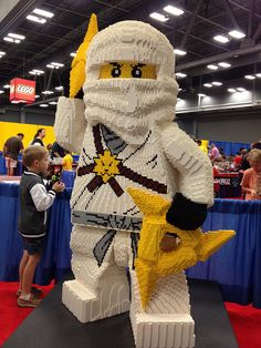 Ninjago - Zane legos I love this So much!!