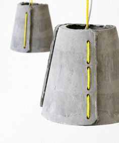 concrete outdoor pendant lamps 2 » Outdoor Pendants Lights Made of Concrete by Rainer Mutsch post photo