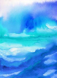 Watercolor Background Colors Of Fading Aquamarine P3y Paramji Papr Amp Bulletin Board