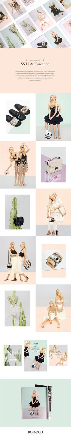 SS '15 Art Direction on Behance