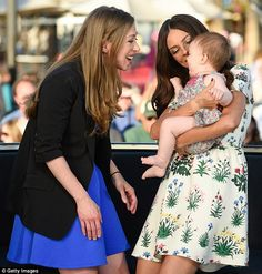Mom duty: Chelsea and Terri were likely able to bond over being new moms, as their children are around the same age