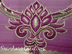 SRI AARI CREATIVES: Aari Embroidery - Simple Designs