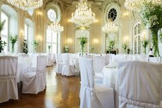 Ovaler Saal | Conference Center Laxenburg | Hochzeit
