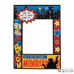 Are you hosting a superhero theme party and looking for a fun way of putting the spotlight on your guests of honor? Look no further than this Superhero Comic ...