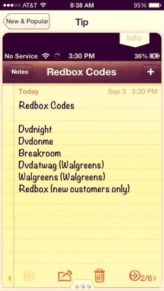 Red Box Codes