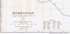 The Geographical Journal, Kurdistan, 1894