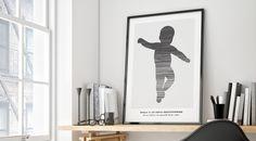 Her følger en oversikt over alle våre fødselsplakater som skaleres i størrelse…