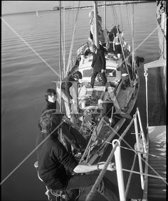 Transatlantic Race - 'Creidne' Old Sailor April See more photos like this at www. Private Yacht, History Photos, Photo Archive, Picture Show, More Photos, Norway, Sailor, Ireland, Coast