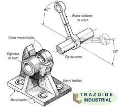 Nueva página de dibujo mecánico, diseño industrial y cad en http://trazoide.com/industrial/