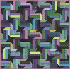 Nebula - Free Quilt Pattern - Jelly Roll