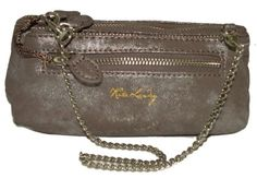 Kate Landry Military Glam Small Brown Clutch $19.00