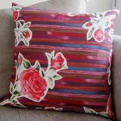 Use the Beautiful Bohemian Pillow Tutorial to create a unique and lovely pillow that's sure to spruce up your couch or bed.
