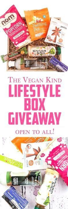 Stand a chance to WI Stand a chance to WIN The Vegan Kind's monthly subscription box filled with tons of vegan goodies! CONTEST IS OPEN TO ALL!