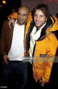 Goldie With Jay Kay (jamiroquai), The After Party For The Uk Movie Premiere Of Ôlord Of The Rings: The Two Towers', At Equinox Nightclub, London