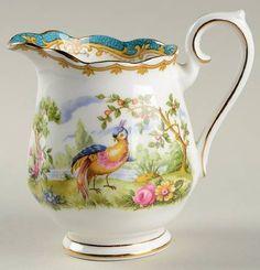 Royal Albert Chelsea Bird Blue Mini Creamer