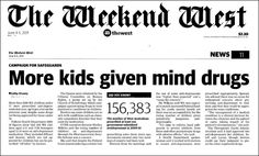 SEROXAT SUFFERERS - STAND UP AND BE COUNTED: The Drugging of Children - Australian Style.