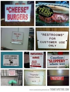 Funny pictures about Those Quotation Marks Look Suspicious. Oh, and cool pics about Those Quotation Marks Look Suspicious. Also, Those Quotation Marks Look Suspicious photos. Haha Funny, Funny Cute, Funny Memes, Funny Stuff, Random Stuff, Funny Typos, Funny Videos, Funny Shit, Random Things
