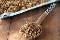 Maple Olive Oil Granola (The Best Ever!)