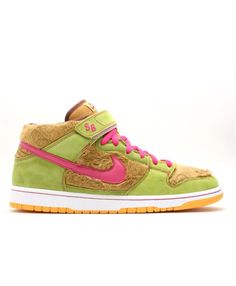 sports shoes 62a32 9c36a Dunk Mid Premium Sb Three Bears Light Umber, Watermelon 314381-761 Nike  Dunks,