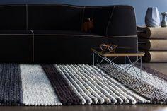 Perletta Carpets, vloerkleed Structures bij Thomassen Interieurs