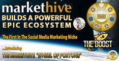 MARKETHIVE - BUILDING A POWERFUL EPIC ECOSYSTEM Social Networks, Social Media Marketing, My Purpose In Life, Advertising Services, Wheel Of Fortune, Home Based Business, Inbound Marketing, Blockchain, Building