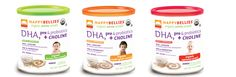 Our HappyBellies Cereal in 3 flavors Oatmeal, Brown Rice and Multi Grain. Our cereals are the first organic baby cereal to incorporate DHA for brain and eye development and the first baby food to incorporate the power of probiotics for baby's wellness