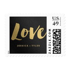 """Shining Promise """"Love"""" Wedding Postage Stamp (affiliate)"""