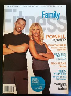 Chris and Heidi Powell in Family Fitness magazine--how they use Vemma Bode for their extreme transformations on 'Extreme Makeover: WeightLoss Edition'!   www.yhoffman.vemma.com