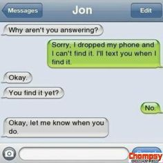 funny things to say on the phone