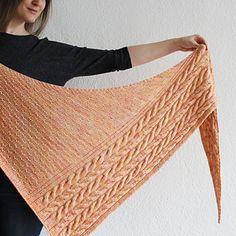 Ravelry: A Gentle Wind pattern by Lisa Hannes Knitted Shawls, Crochet Scarves, Knit Crochet, Knitting Scarves, Shawl Patterns, Knitting Patterns, Crochet Patterns, Knitting Ideas, Yarn Inspiration