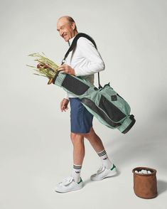 Tennis legend Stan Smith combines style and sustainability in the latest golf drop.💧 Available in the unmistakable white and green colorway with a waterproof upper made from high-performance recycled materials.👌 Get yourself now a pair of adidas Stan Smith .⛳ #STANSMITHFOREVER #ENDPLASTICWASTE #StanSmith #golfshoes #adidasgolf #adidasstansmith #primegreen #golfstore #eGolfMegastore Tennis Legends, Spikeless Golf Shoes, Golf Stores, Adidas Golf, Adidas Stan Smith, Recycled Materials, Sustainability, Gym Bag, Adidas Sneakers