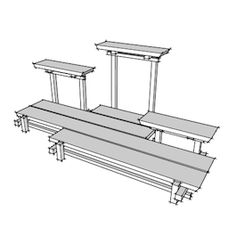 No. 7 Bonsai Plant and Garden Stand