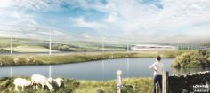 Overhead Line Structures RIBA Competition. UK. Cobe Denmark. 2014