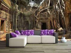 Salon w tajemniczym miejscu #homedecor #fototapeta #3d #aranżacjawnętrz #wystrójwnętrz #decor #desing http://www.fototapeta24.pl/getMediaData.php?id=3840969