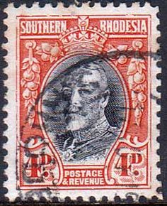 Southern Rhodesia 1931 SG 19 George V Head Fine Used    SG 19 Scott 21    Condition  Fine UsedOnly one post charge applied on multipule purchases