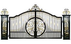 Eros Custom Gate Design | GatesIron