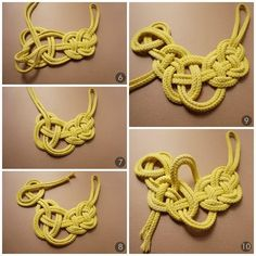 An easy method to incorporate recyclable products in your precious jewelry is to make recycled fashion jewelry charms to hold on your chain bracelets or use as pendants on your lockets. Celtic Knot Jewelry, Jewelry Knots, Fabric Jewelry, Macrame Jewelry, Clay Jewelry, Jewelry Crafts, Handmade Jewelry, Jewelry Accessories, Jewelry Design