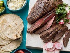 Grilled Tequila Garlic Lime Flank Steak  #Grilled #Tequila #Garlic #Lime #FlankSteak